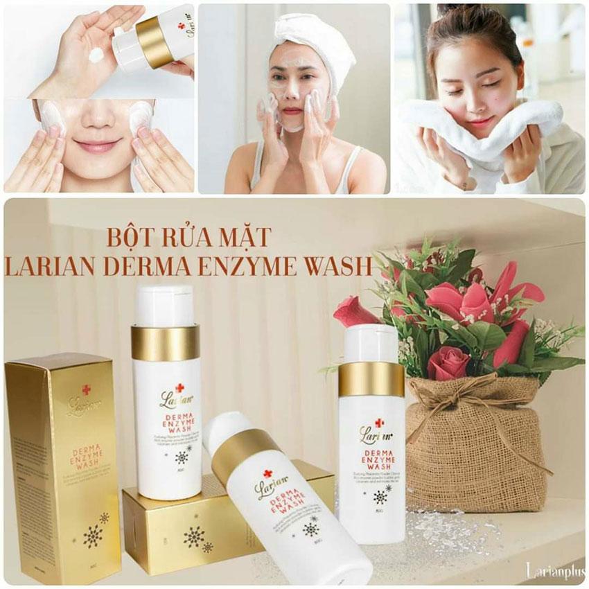 Bột rửa mặt Derma Enzym Wash Larian