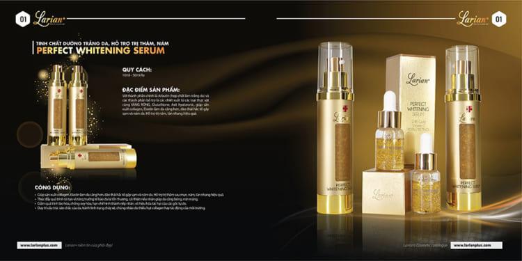 tinh chất vàng vitamin C - Serum vàng 24k